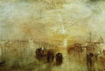 W.Turner, Venedig, Auf dem Weg zum Ball von AKG  Images
