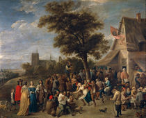 D.Teniers d.J., Bauernfest by AKG  Images