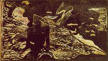 Gauguin, Auti Te Pape/Holzschnitt/um1893 von AKG  Images