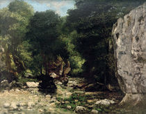 G.Courbet, Der 'Puits Noir' by AKG  Images
