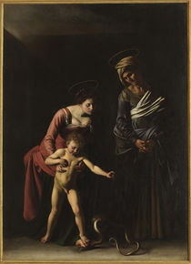 Caravaggio, Madonna dei Palafrenieri von AKG  Images