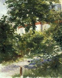 E.Manet, Das Haus im Laubwerk von AKG  Images
