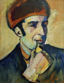 Franz Marc / Gemaelde von August Macke by AKG  Images