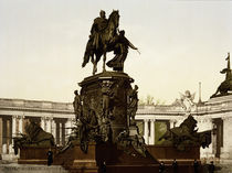 Berlin, Denkmal Kaiser Wilhelms / Foto by AKG  Images