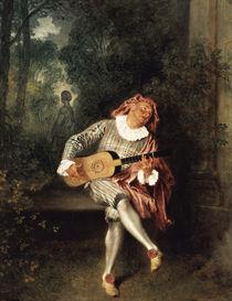 A.Watteau, Mezzetin by AKG  Images