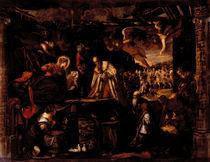 Tintoretto, Anbetung der Koenige von AKG  Images