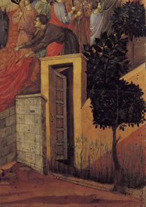 Duccio, Einzug in Jerusalem, Ausschnitt von AKG  Images