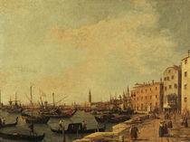 Venedig,Riva degli Schiavoni / Canaletto by AKG  Images