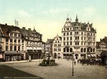 Braunschweig, Kohlmarkt / Photochrom by AKG  Images