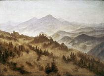 C.D.Friedrich, Gebirgslandschaft/um 1835 by AKG  Images