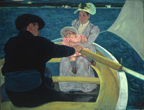 Mary Cassatt, Die Kahnpartie/ 1893-94 by AKG  Images