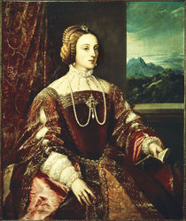 Isabella von Portgual / Gem.v.Tizian von AKG  Images