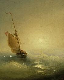 I.K.Aiwasowski, Segelboot bei Sonnenunt. von AKG  Images