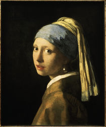 Vermeer, Maedchen mit der Perle by AKG  Images