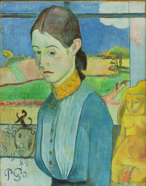 P.Gauguin, Junge Bretonin by AKG  Images
