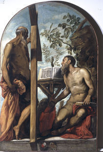 Tintoretto, Andreas und Hieronymus by AKG  Images