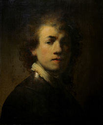 Rembrandt, Selbstbildnis mit Halsberge by AKG  Images