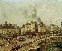 C.Pissarro, Le Pont Neuf by AKG  Images