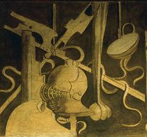 Giorgione, Kriegskunst / Fresko von AKG  Images