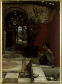 L.Alma Tadema, Der Oleander by AKG  Images