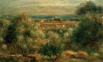 A.Renoir,Blick von Haut Cagnes aufs Meer von AKG  Images