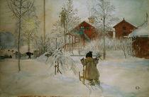 C.Larsson, Der Hof und das Waschhaus by AKG  Images