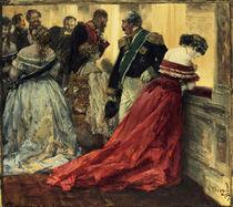 A.v.Menzel, Ballszene/ 1867 von AKG  Images