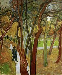 V.van Gogh, Spaziergaenger im Park by AKG  Images