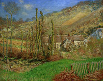 C.Monet, Val de Falaise im Winter, 1885 by AKG  Images