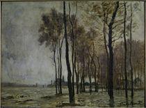 C.Monet, Hochwasser in Argenteuil by AKG  Images