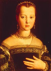 Maria de' Medici / Gem.v.Bronzino von AKG  Images