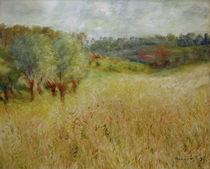 Auguste Renoir, Das Kornfeld von AKG  Images