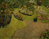 V.v.Gogh, Garten in Auvers by AKG  Images