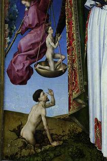 R.v.d. Weyden, Auferstehender, Seliger von AKG  Images