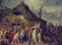 J.Brueghel d.Ae., Anbetung der Koenige by AKG  Images