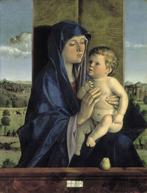 Giovanni Bellini, Madonna mit Kind by AKG  Images