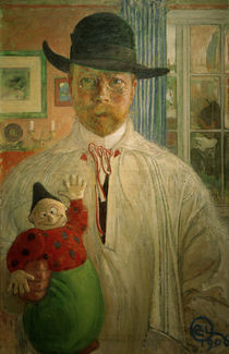 Carl Larsson, Selbstuntersuchung by AKG  Images
