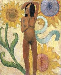P.Gauguin, Nackte Frauenfigur by AKG  Images