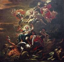 L.Giordano, Allegorie der Gerechtigkeit von AKG  Images