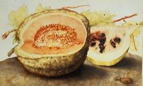 G.Garzoni, Melone und Granatapfel von AKG  Images