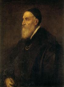 Tizian, Selbstbildnis 1570 (Madrid) von AKG  Images