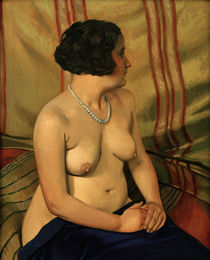 F.Vallotton, Frau mit blauer Halskette by AKG  Images