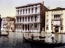 Venedig, Ca'Rezzonico / Photochrom by AKG  Images