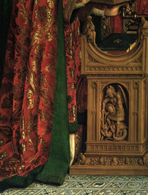Pult / Jan v.Eyck, Genter Altar (Detail) von AKG  Images