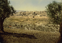 Jerusalem, Stadtansicht / Photochrom by AKG  Images