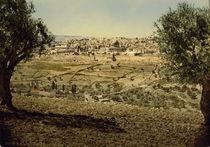 Jerusalem, Stadtansicht / Photochrom von AKG  Images