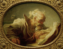 J. H.Fragonard, Les.alt.Mann (Philosoph) von AKG  Images