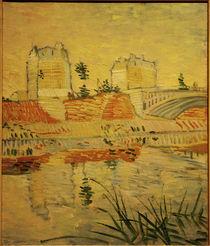 V.v.Gogh, Die Bruecke von Clichy von AKG  Images