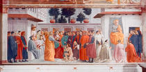 Masaccio, Auferweckung des Sohnes Theoph by AKG  Images