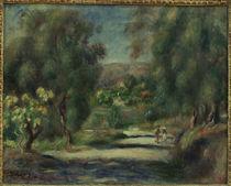 A.Renoir, Paysage de Cagnes von AKG  Images